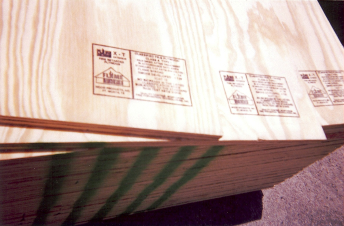 Fire Retardant Treated Plywood Fire Rated Wood